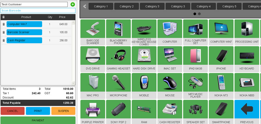 Online Pos System Cloud Shop Management Software