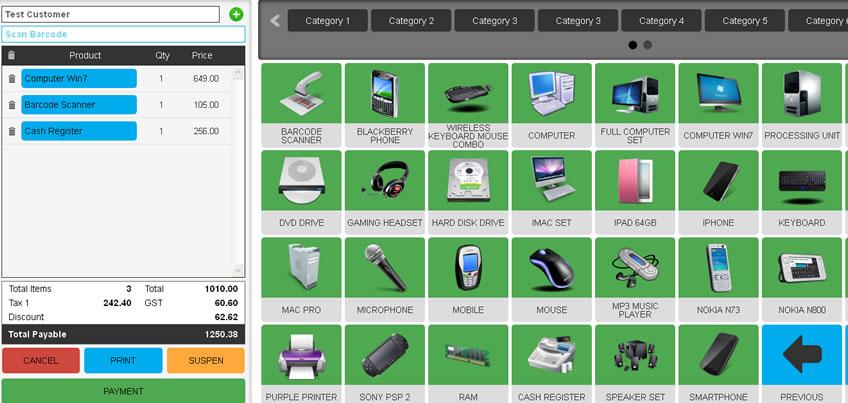 Online POS System - Cloud Shop Management Software